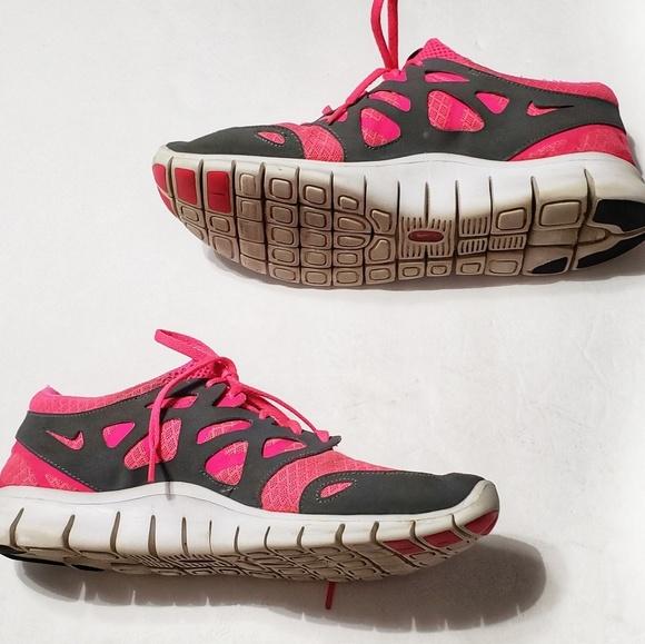 Nike Free Run 2 GS Schuhe schwarz pink im WeAre Shop